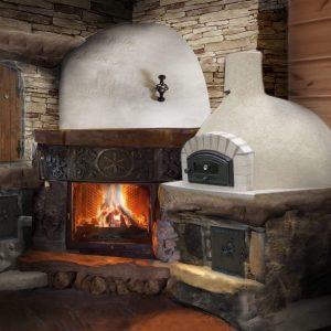 Własny chlebek z własnego pieca smakuje najlepiej zapewnij go sobie dzięki kominkowi domowemu – kominek w domu domowe ognisko ciepło ogień kominek z